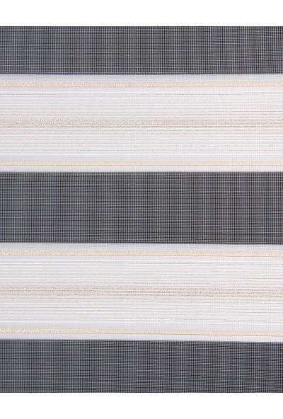 Güneş Perde Brillant Dore Sim Geçişli Pliseli Zebra 150X260 cm