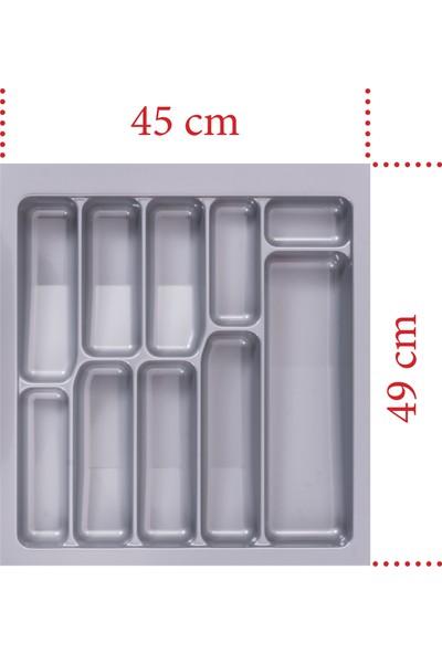 Netaks Çekmece İçi Kaşıklık 45 x 49 x 2.2 mm Yeni Model