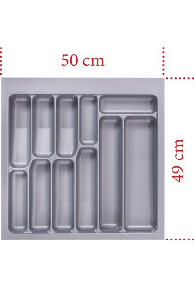 Netaks Çekmece İçi Kaşıklık 50 x 49 x 2.2 mm Yeni Model