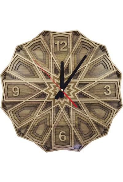 Desen Sanat Özel Tasarım Selçuklu Saat