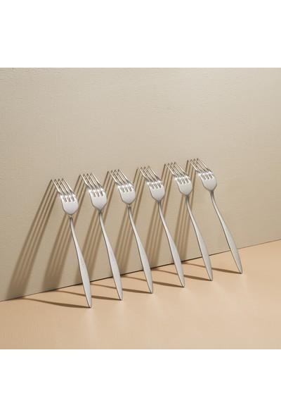 Lugga Ceyda 36 Parça 6 Kişilik Çatal Kaşık Bıçak Seti