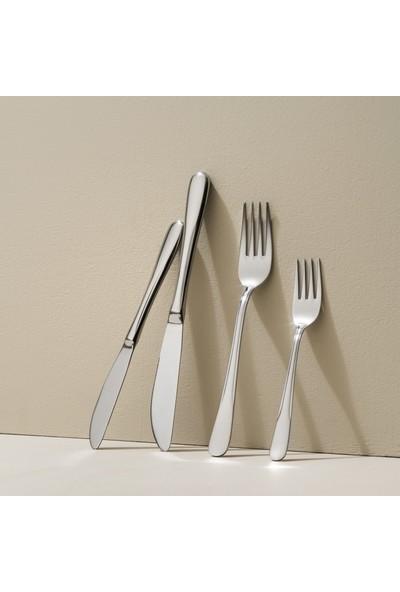 Lugga Eda 24 Parça 6 Kişilik Çatal Kaşık Bıçak Seti