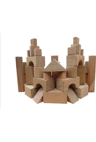Sorona Ahşap Eğitici Yapı Blokları