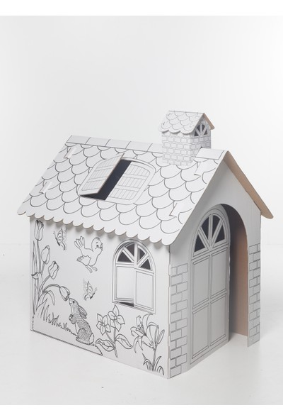 Toprak Karton Oyun Ve Boyama Evi