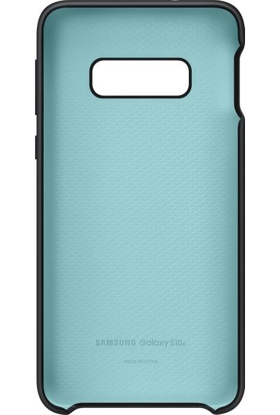 Samsung Galaxy S10e Silicone Cover (Siyah) - EF-PG970TBEGWW