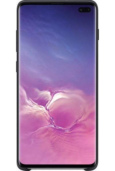 Samsung Galaxy S10+ Silicone Cover (Siyah) - EF-PG975TBEGWW