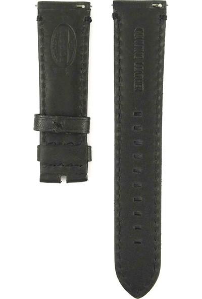 Ztd Strap Fossil Me3053 22Mm Siyah Deri Saat Kordonu 469Fsl