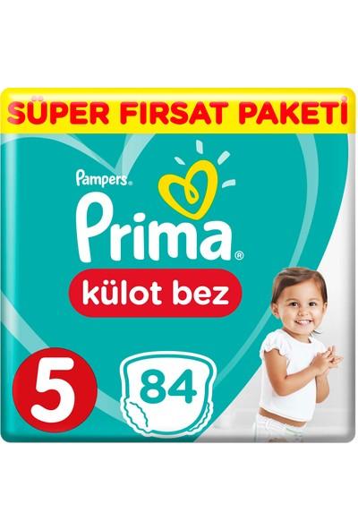 Prima Külot Bebek Bezi 5 Beden 84 Adet Junior Süper Fırsat Paketi