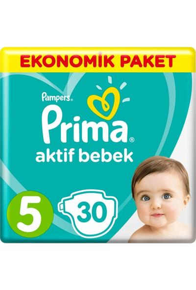Prima Bebek Bezi Aktif Bebek 5 Beden 30 Adet Junior Ekonomik Paket