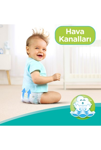Prima Bebek Bezi Yeni Bebek 1 Beden 100 Adet Yenidoğan Fırsat Paketi