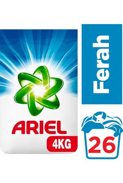 Ariel 4 kg Toz Çamaşır Deterjanı Ekstra Ferah