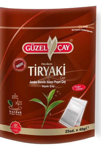 Güzel Çay Tiryaki 40gr X 25' li 1000gr