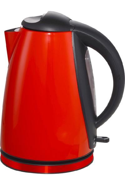 Vestel Sefa S2000 Kırmızı Inox Su Isıtıcı