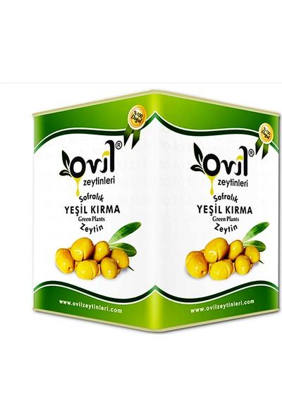 Ovil Domat Kırma Yeşil Zeytin 121-140 Kb 10 kg