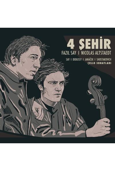 Fazıl Say & Nicolas Altstaedt / 4 Şehir CD