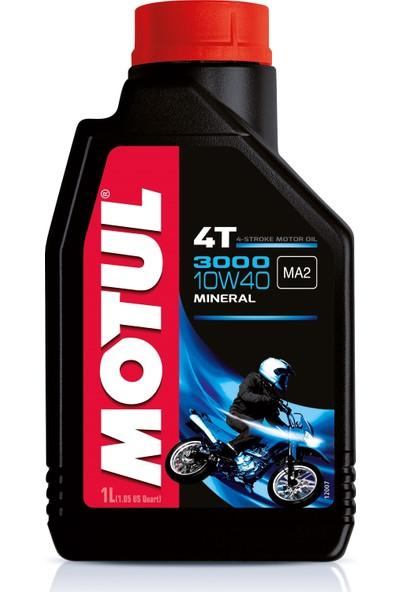 Motul 3000 10W40 Mineral Motosiklet Yağı 1 lt