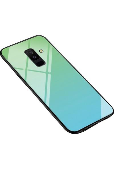Coverzone Samsung Galaxy J6 Plus Gravity Cam Kılıf Yeşil