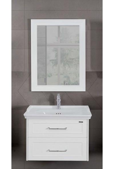 Lineart Frame 800 80Cm Banyo Dolabı