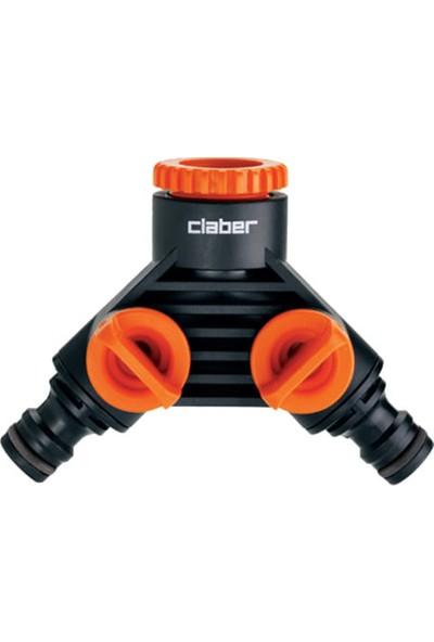 Claber 8599 Musluk Adaptörü Duplex
