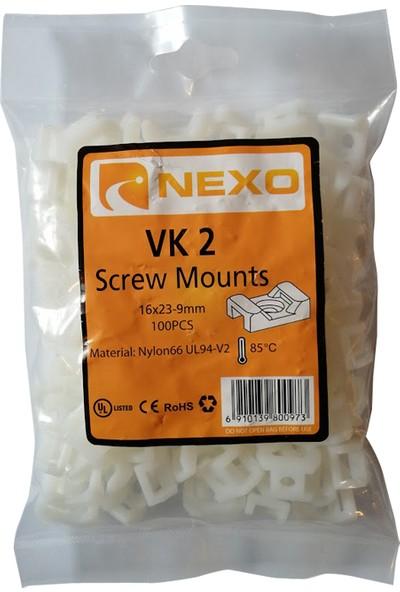 Nexo Vidalı Kroşe VK1 10 x 15 - 5mm