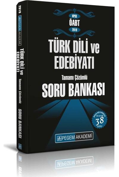 Pegem Akademi KPSS ÖABT Türk Dili Ve Edebiyatı Tamamı Çözümlü Soru Bankası - Fatih Mehmet Muş