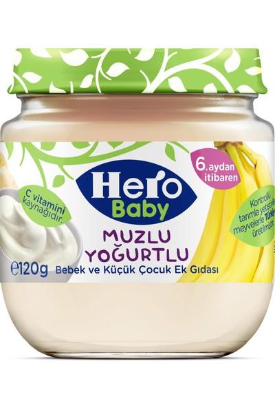 Hero Baby Muzlu Yoğurtlu Kavanoz Maması 120 gr