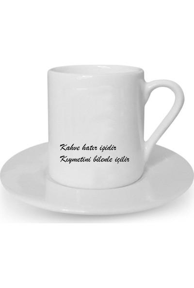 Mutlu Mutfak Atölye Kişiye Özel Tasarım Türk Kahvesi Fincanı Söz