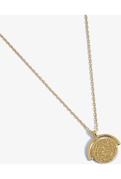 Lapidore Aztec Gold Madalyon Kolye