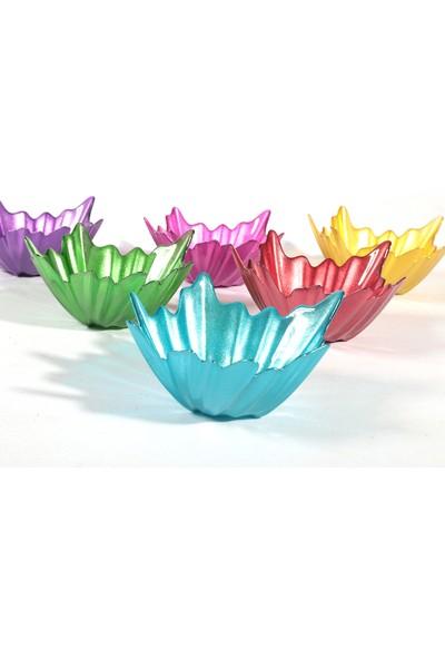 Sigma Renkli Yaprak Çerezlik 9 cm 6'lı