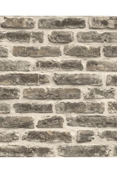 Ugepa Roll In Stones J179-19 Tuğla Görünümlü Duvar Kağıdı