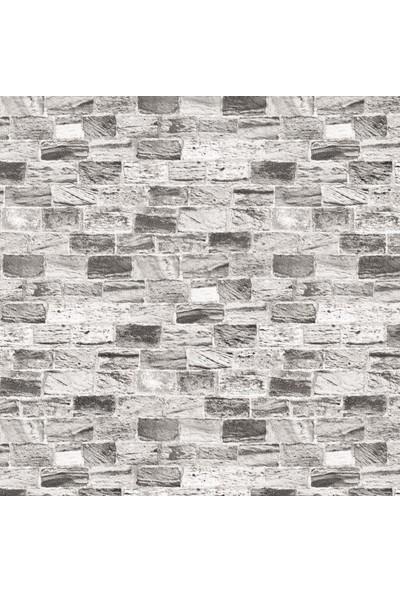 Wall 212 3D Single 2042 Taş Desenli Vinil Duvar Kağıdı