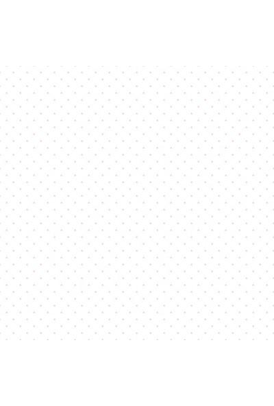Zümrüt Milky Baby 418-3 Pembe Noktalı Çocuk Odası Duvar Kağıdı