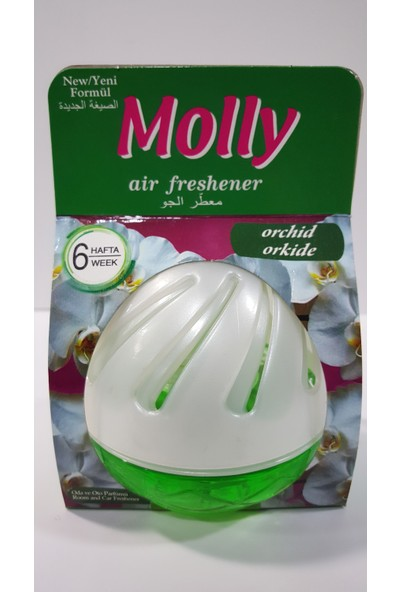 Molly Yavaş Salınımlı Oda Ve Oto Kokusu Orchid 75 ml