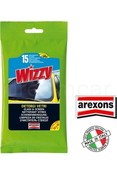 Arexons Wizzy Cam Temizleme Mendili 15 Ad Made In Italy 1932