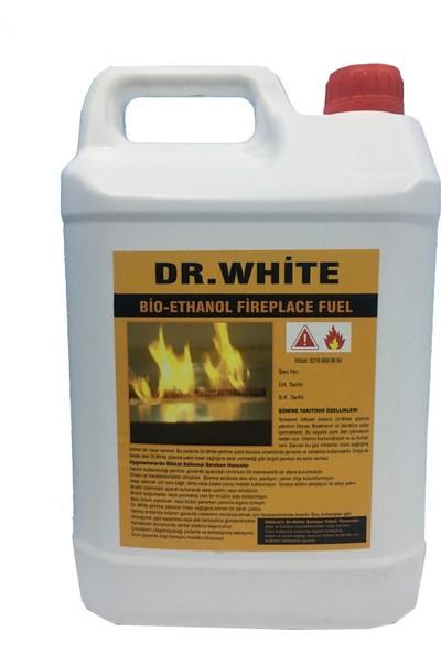 Dr.White Bio Ethanol Bacasız Dumansız Kokusuz Şömine Yakıtı 5 Lt