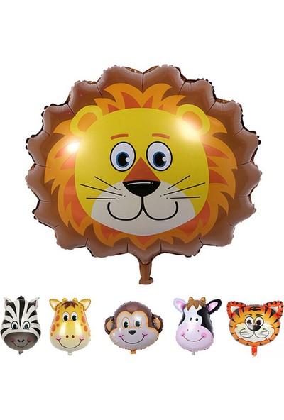 Kazanabil Safari Hayvanları Aslan Folyo Balon 30 cm