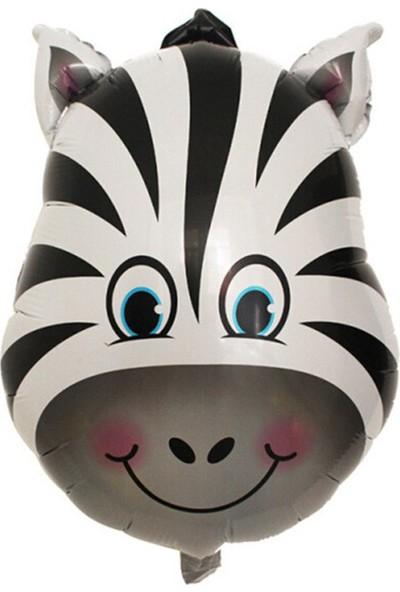 Kazanabil Safari Hayvanları Zebra Folyo Balon 30 cm