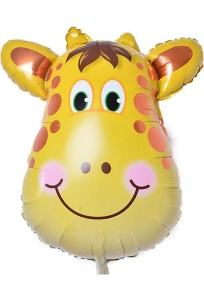 Kazanabil Safari Hayvanları Zürafa Folyo Balon 30 cm