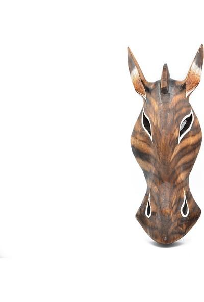 Mantr Zebra Maske Duvar Dekoru - Model 3