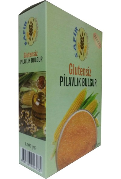 Safir Glutensiz Pilavlık Bulgur 1 kg