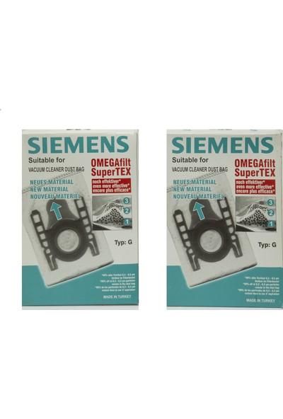 Bosch Siemens Profilo G Tipi Sentetik Bez Toz Torbası