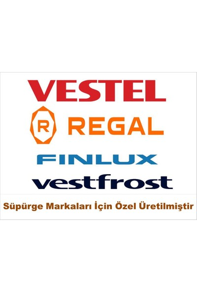 Vestel 3000 Meltem Süpürge Bez Toz Torbası 25 Adet