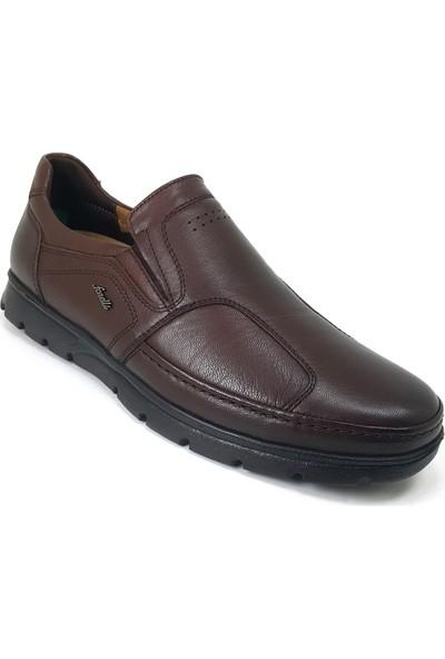 Forelli 32606 Ortopedik Günlük Erkek Ayakkabı Kahverengi