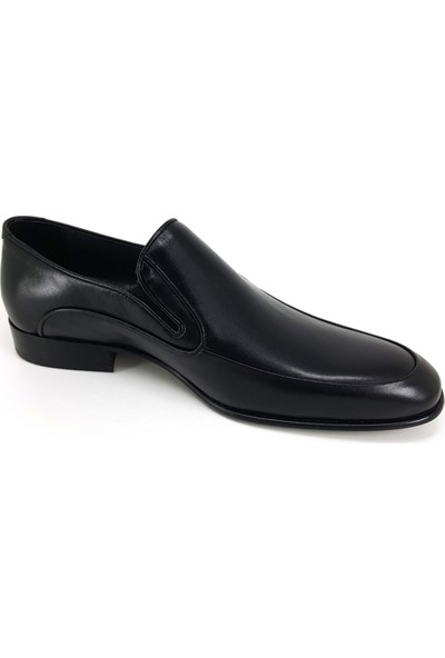 Oskar 1115 Günlük Kösele Erkek Ayakkabı Siyah