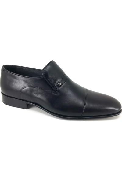 Oskar 210 Kösele Günlük Erkek Ayakkabı Siyah