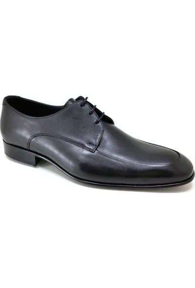 Oskar 439 Kösele Günlük Erkek Ayakkabı Siyah