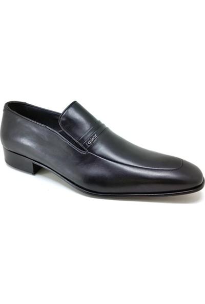 Oskar 445 Kösele Günlük Erkek Ayakkabı Siyah