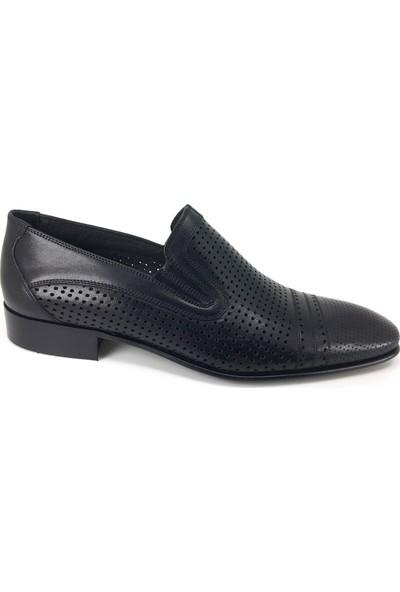 Oskar 867 Kösele Günlük Erkek Ayakkabı Siyah