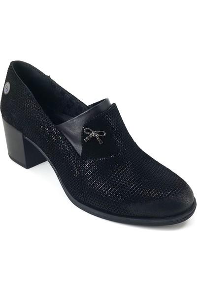 Mammamia 195 Günlük Kadın Ayakkabı Siyah