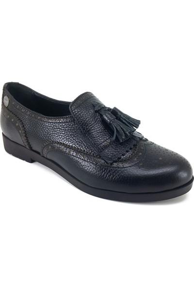 Mammamia 3040 Günlük Kadın Ayakkabı Siyah